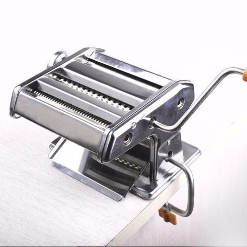 "7"" Maker Fresh Noodle Dough Ravioli Spaghetti Steel"