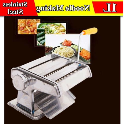 Manual Pasta Roller Machine for Noodle Kitchen