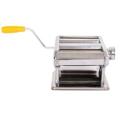 Stainless Pasta Maker Noodle Fettuccine w/ Hand-cranking