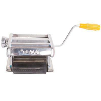 Stainless Steel Fresh Pasta Maker Machine Noodle Fettuccine