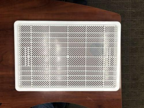 8 White Perforated Drying for all Pasta Machines