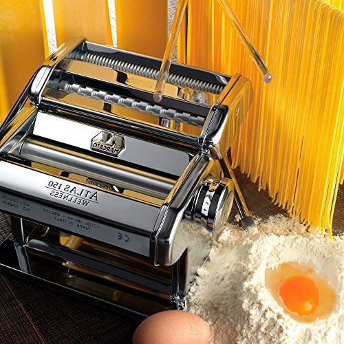 Marcato Pasta Machine, Made in Includes Pasta Crank, and