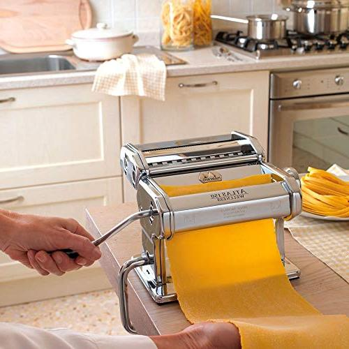 Marcato Machine, Made in Includes Pasta Cutter, Hand Crank, Instructions