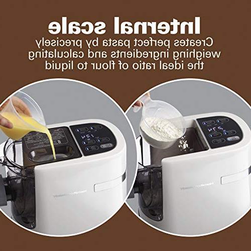 Hamilton Beach 86650 Noodle, Automatic, Pasta Maker Capacity White