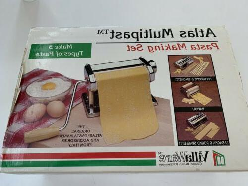 Atlas Marcato Multipast Pasta Machine Set