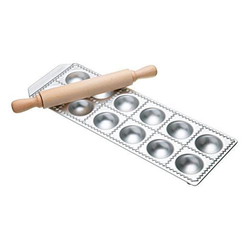 Imperia 12-Square Ravioli Maker by Cucina Pro 127-12 with Ro