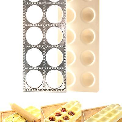 "Norpro 1040 Jumbo Ravioli Maker with Press, 12.25"" x 5.125"""