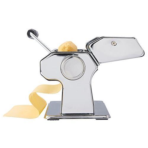 VonShef Pasta Maker with 3 Cut Press Blade Pasta Measuring