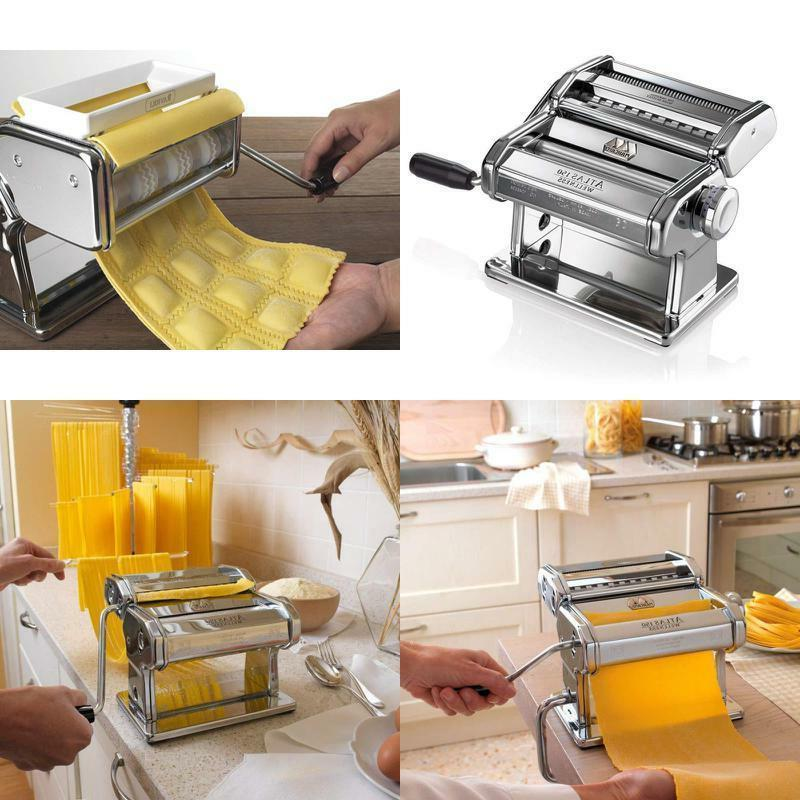 atlas 150 pasta machine and pasta cutter