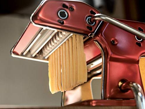 Marcato Made in Italy, Red, Includes Hand Crank, Red, Red