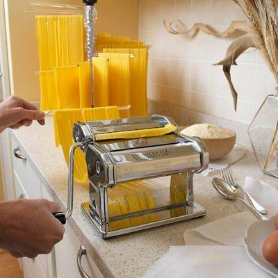 Marcato Atlas Pasta Machine, Made Italy, Includes Cutter, Hand