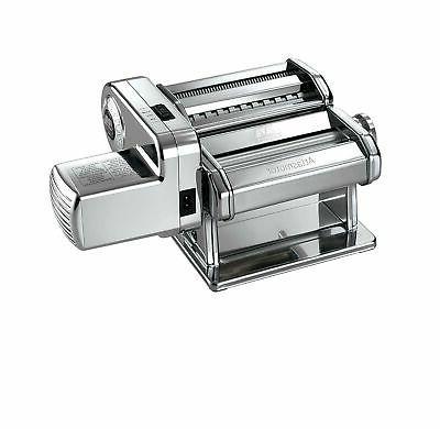 brand new electric pasta machine silver