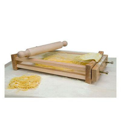 Eppicotispai Chitarra Pasta Cutter, with Rolling Pin
