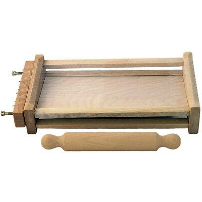 chitarra pasta cutter with rolling pin included