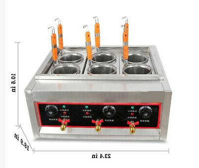 commercial electric pasta cooking machine noodle boiler