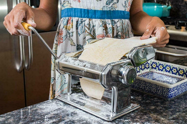 Commercial Pasta Fresh Noodle Manual Machine