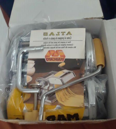 deluxe pasta maker model 150 italy clean