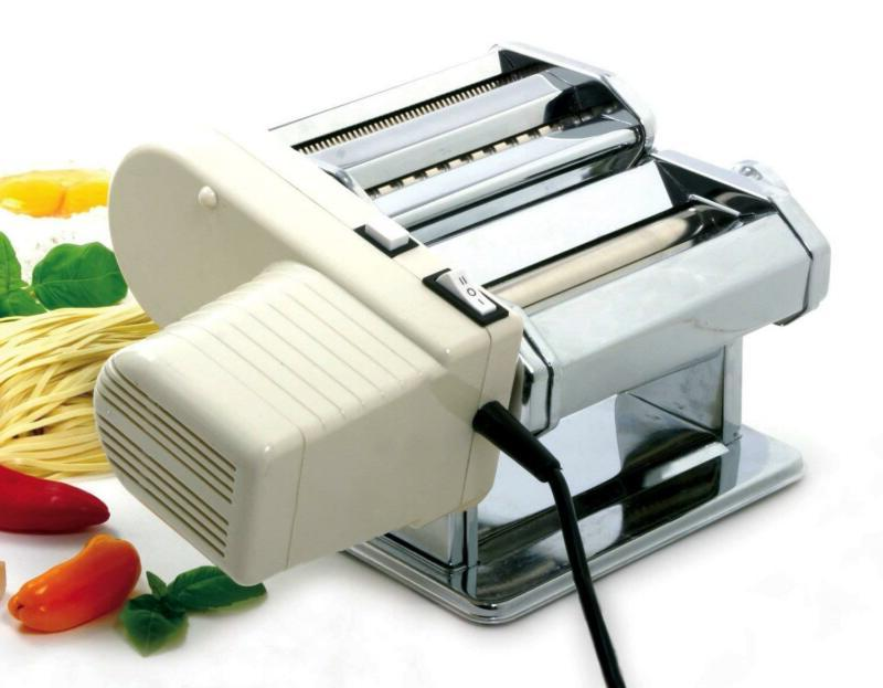 electric pasta machine motor pasta maker connected