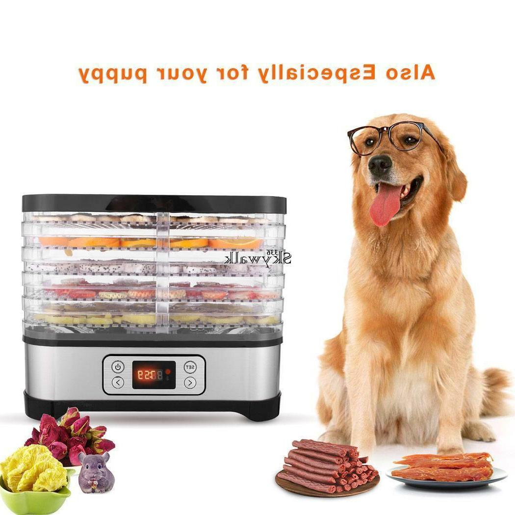 Food Dehydrator Machine Fruit Dryer Electric 5 Tier Food W/A