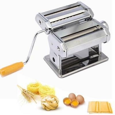 fresh pasta roller machine noodle maker stainless