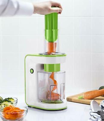 Gourmia GES580 Electric Spiralizer with 3 Blades BRAND NEW!!