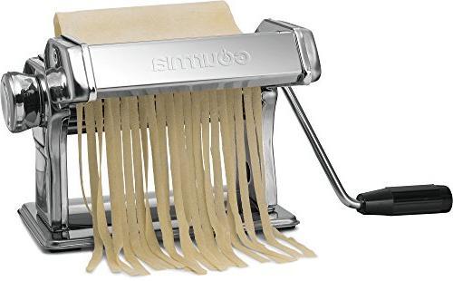 Gourmia GPM9980 Pasta Maker, - – Spaghetti Stainless Steel Chrome Parts 150mm
