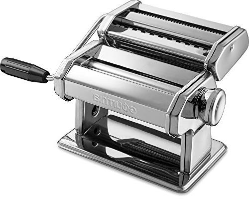 Gourmia Maker, Roller Cutter - Manual – Slices Spaghetti and Stainless Chrome Plated 150mm