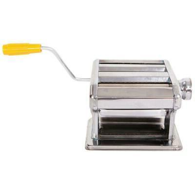 "Hand 6"" Pasta Maker Machine Noodle Spaghetti Steel"