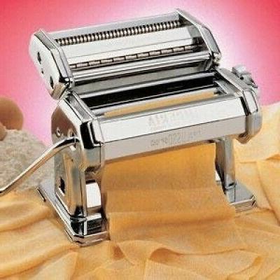 homemade pasta maker hand crank