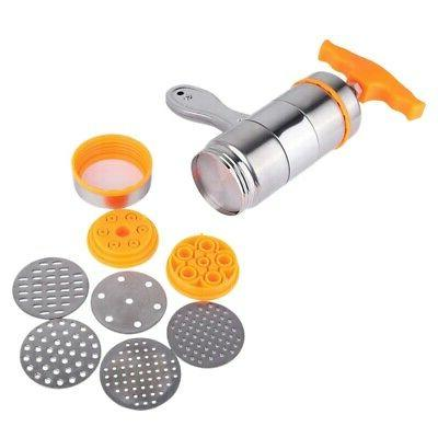 household manual stainless steel pasta maker noodles