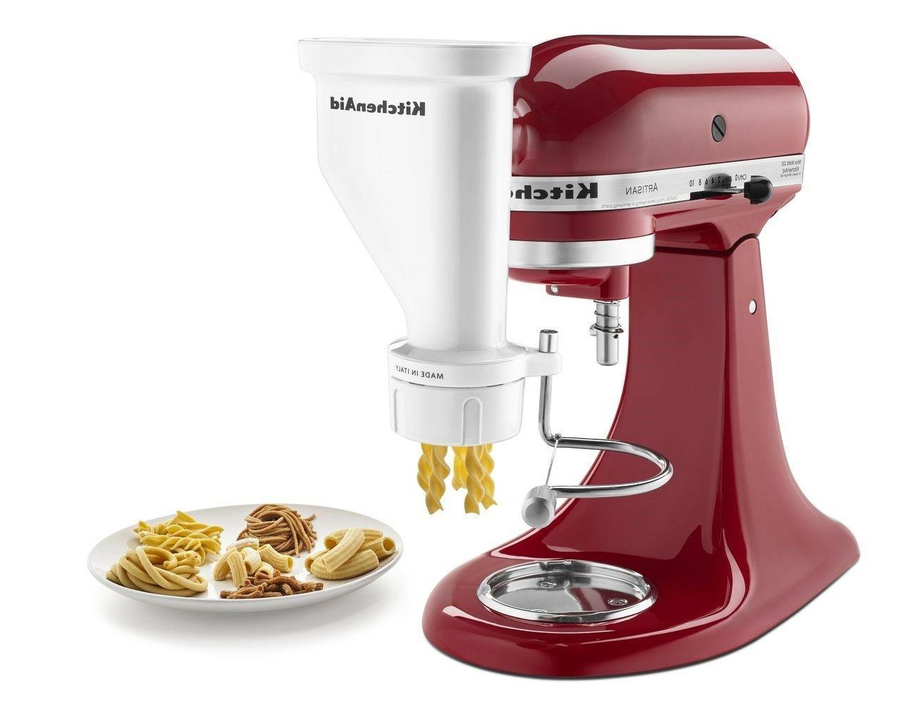 KitchenAid Gourmet Pasta Press Attachment Rigatoni, Fusill