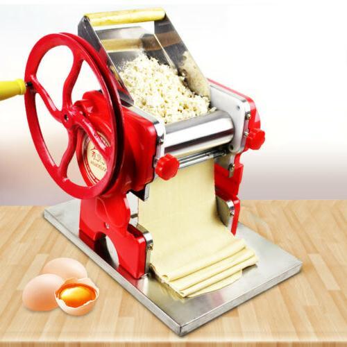 Commercial Pasta Maker Fresh Noodle Making Machine Manual No
