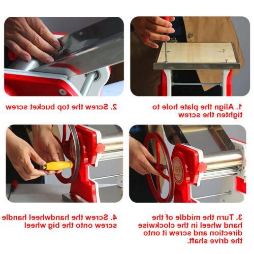 Commercial Pasta Maker Fresh Noodle Noodle Machine USA