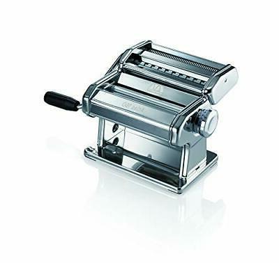 Marcato 150 Pasta Machine, Italy, Includes Cutter, Cra