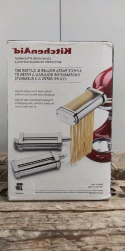 mixer pasta roller 3 attachments nib