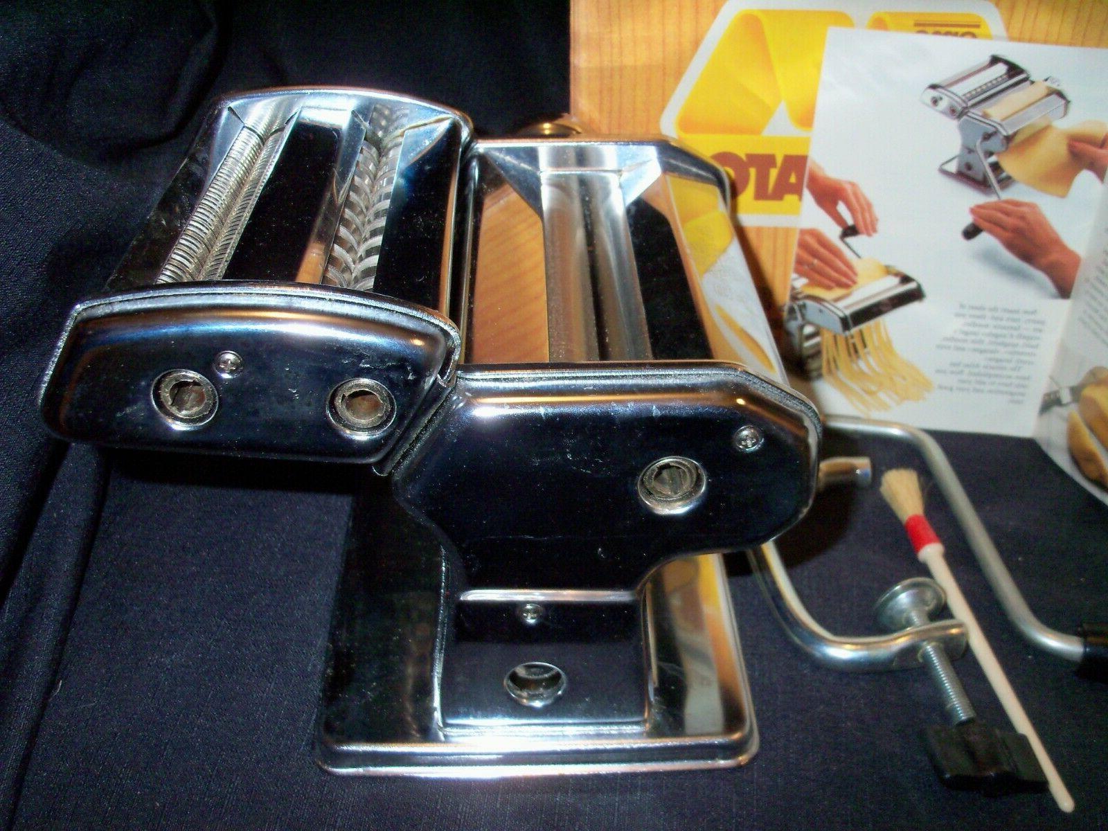 New OMC Marcato Atlas 150 Machine Pastabike w/box #2