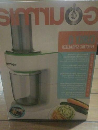 new curly q electric spiralizer
