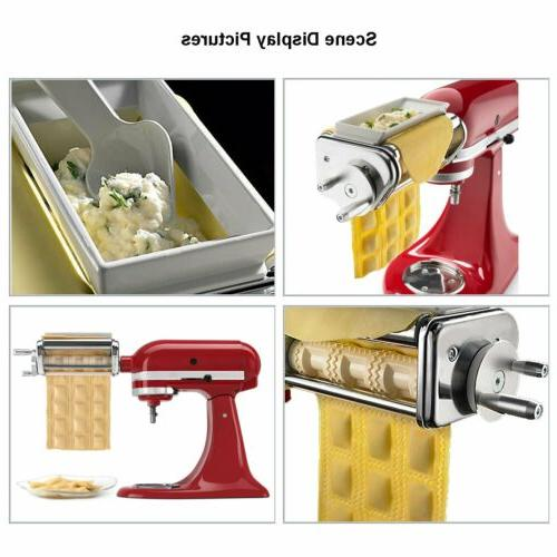 NEW Kitchenaid Pasta & KRAV Stainless Steel Attachment Ravioli