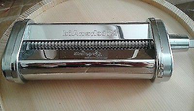 new ksmpsa spaghetti pasta roller attachment silver