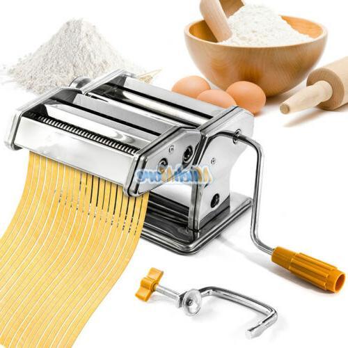 New Pasta Maker Noodle Cutter Roller 2 TYPES