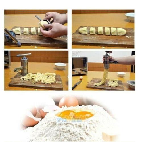 New Pasta Maker Noodle Dough Cutter Handle 2