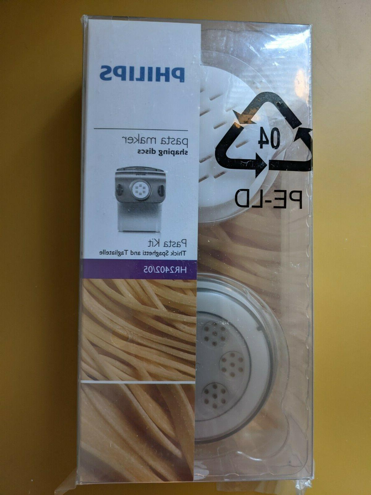 New Philips Pasta Shaping Discs: Spaghetti and