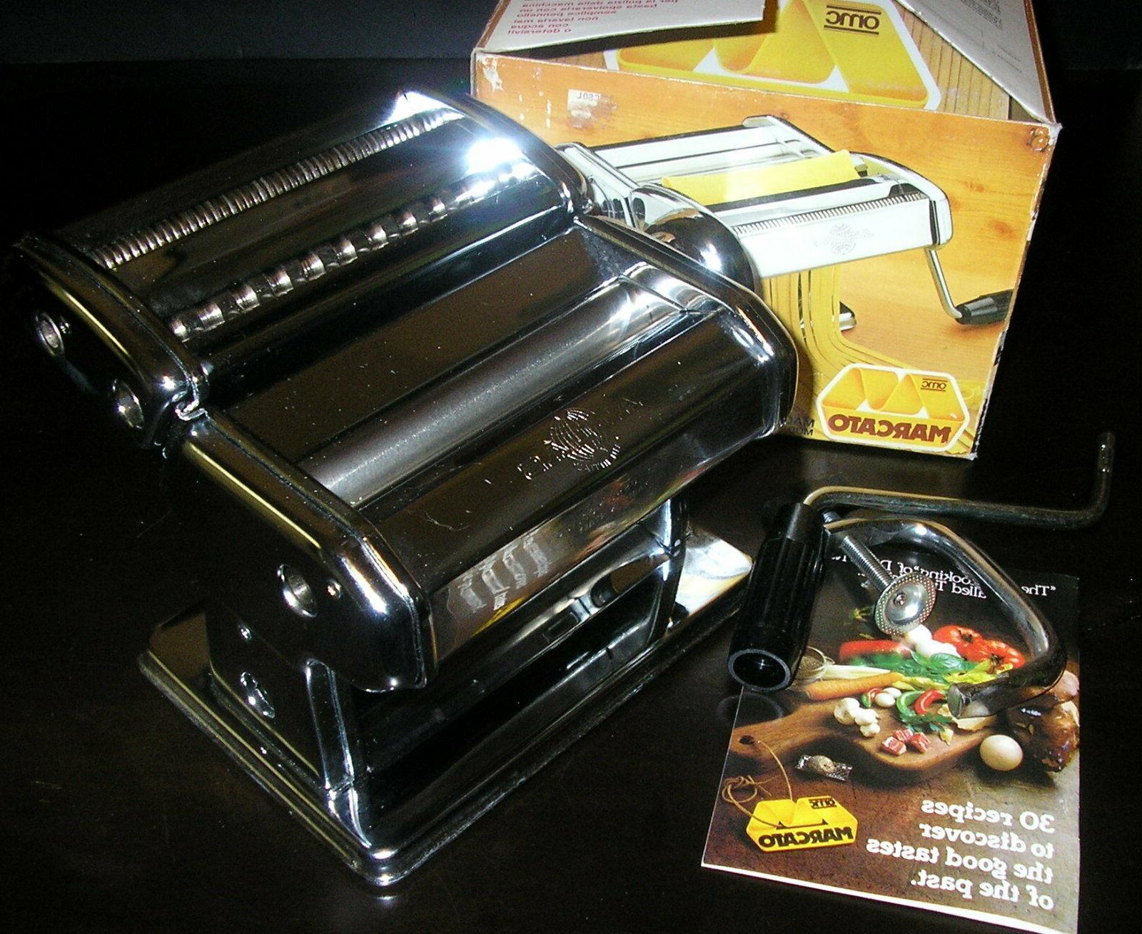 omc atlas manual pasta maker machine in