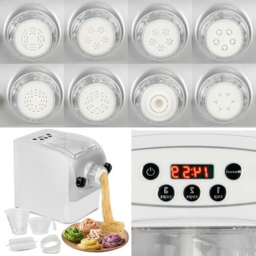 Electric Noodle Machine Spaghetti Maker W/ 8