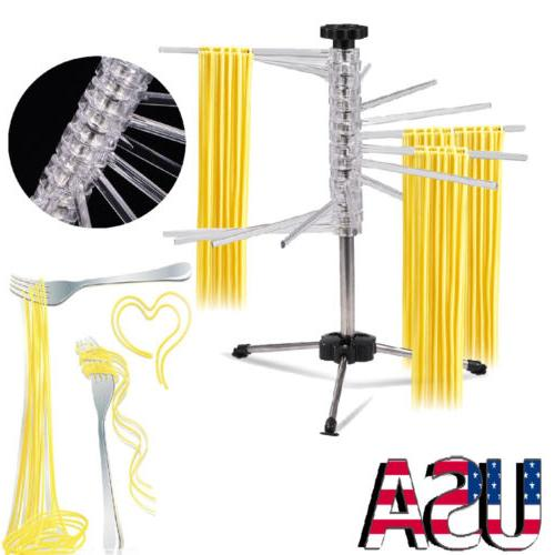 pasta drying rack collapsible spaghetti dryer stand