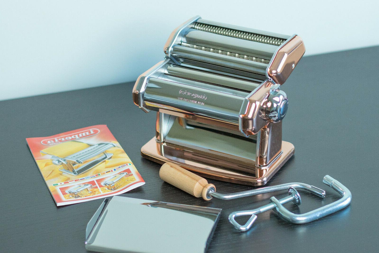 pasta maker machine heavy duty stainless steel