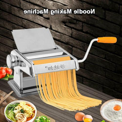 pasta maker roller machine dough making fresh