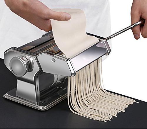 Set All 9 Fresh Spaghetti Lasagne Roller Press Cutter Noodle P1802