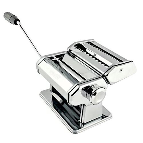 Pasta Maker – Machine Includes Roller, Pasta Cutter, Hand and