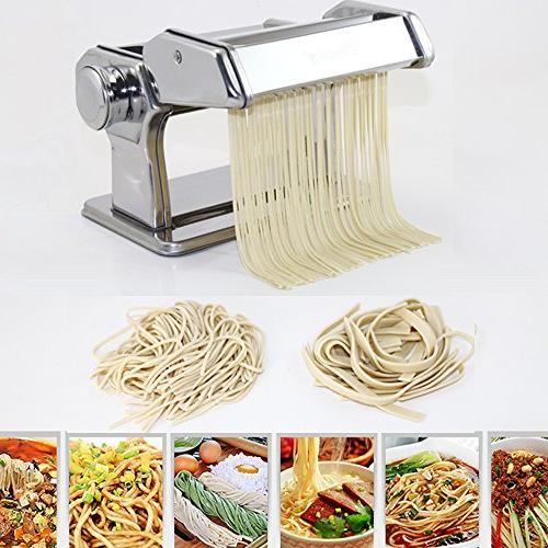 Pasta By Shule – Stainless Steel Machine Includes Pasta and Detailed